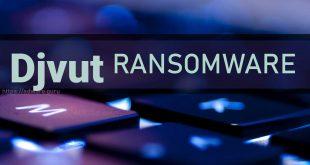 Djvut Virus Removal Guide (+Decrypt .djvut files) – DJVU Ransomware