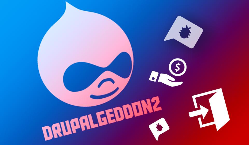 Drupalgeddon2 vulnerability used in attacks