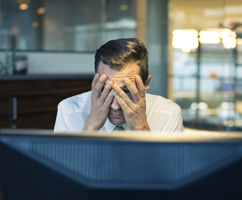 Employees' Errors Cybersecurity Problem