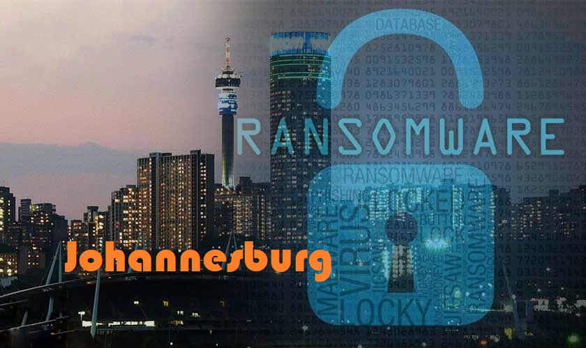 Ransomware attack Johannesburg IT services