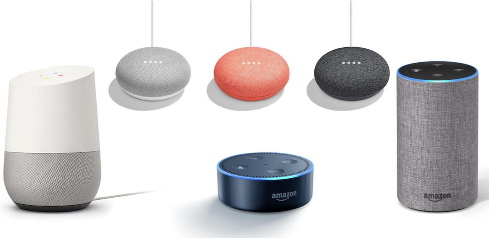 Vulnerabilities Alexa and Google Home