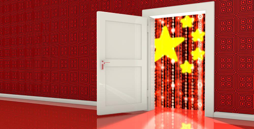 Chinese Bank install backdoor
