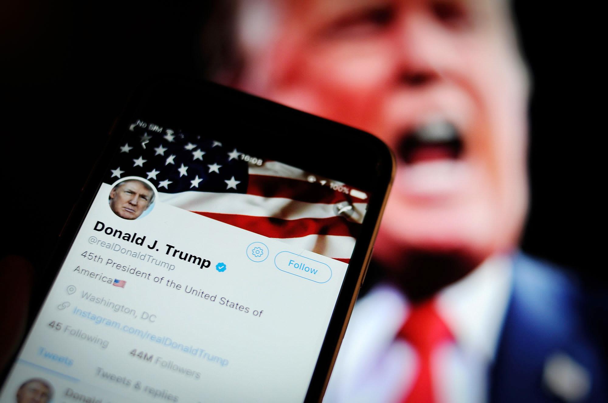 Donald Trump Twitter password