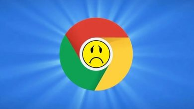 Google Chrome crashes