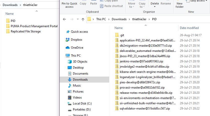 Puma Git repository